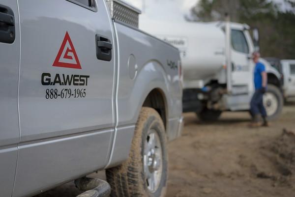 G.A. West Truck